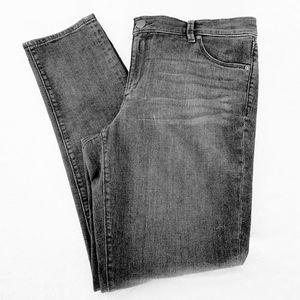 Loft Plus Grey Modern Skinny Jean's Size 14